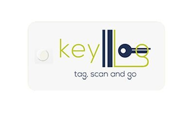 Branded Key Tags with Barcode